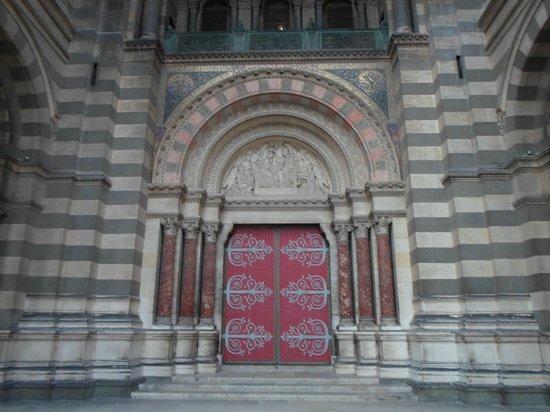Puerto Viejo: L'ingresso della cattedrale