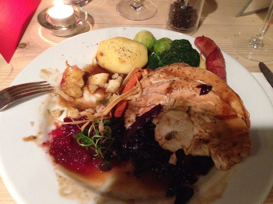 The Townhouse Restaurant: Townhouse Christmas Dinner