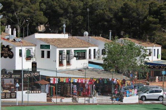 Best Cap Salou: Вид из отеля на сторону площади