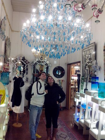 Glass Factory Colleoni: espetaculo
