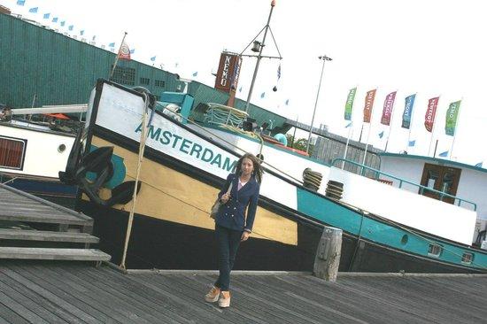 Amsterdam Hotelboat: как раз у HotelBoat :)