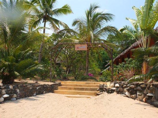 Sakatia Lodge: entrance