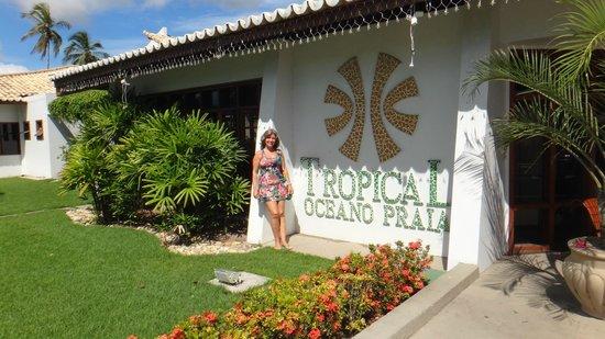 Oceano Praia Hotel : Fachada do hotel