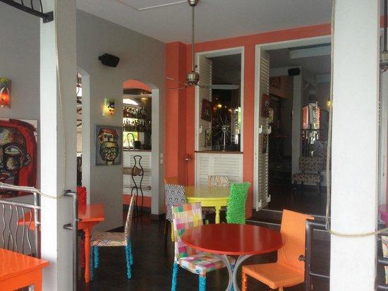 La Suite Villa: Frukostterrass/bar