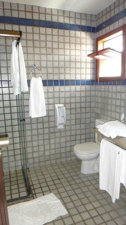 Oceano Praia Hotel: Vista do banheiro