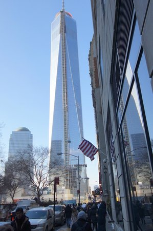 Mémorial du 11-Septembre : Freedom Tower dominates Lower Manhatten