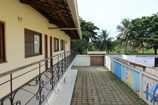 Maristella Hotel Pousada: Vista do apartamento
