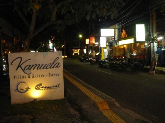 Kamuela Villas and Suite Sanur: Street view