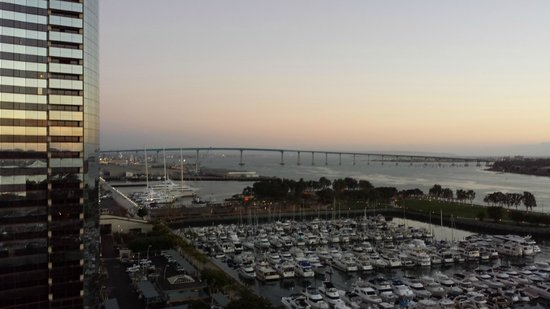 Marriott Marquis San Diego Marina: View from Room