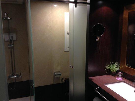 Ayre Hotel Astoria Palace : Bagno e doccia