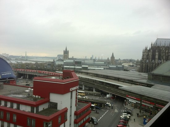 Wyndham Koeln : View from room