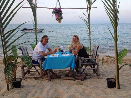 ZENZIBAR Beach Bar & Restaurant: Lovely evening