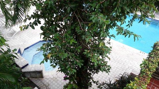 Winterset Hotel: piscina y jacuzzi