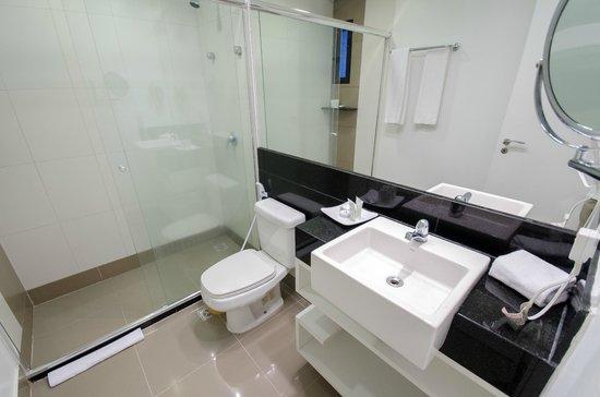 Hotel Adrianópolis : Banheiro Apartamento Luxo