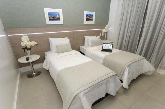 Hotel Adrianópolis : Apartamento Luxo Camas Twin