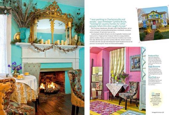 High Meadows Inn: 'Vintage & Victorian' magazine!