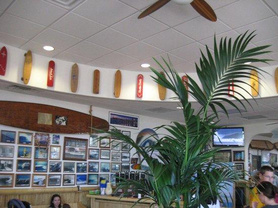 Beach Break Cafe : Waiting area