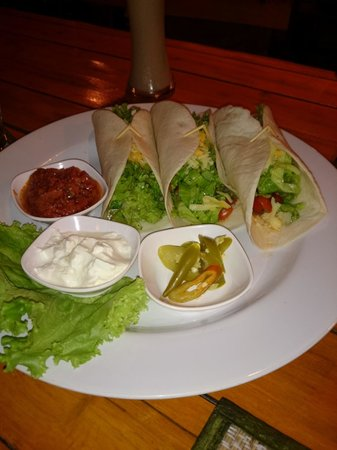 Sala Mexicali: Shrimp Tacos 非常に美味しかった