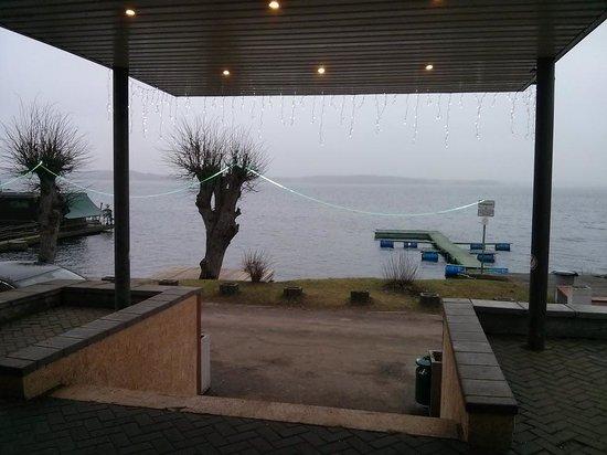 Mezaparks Hotel: Вид из дверей