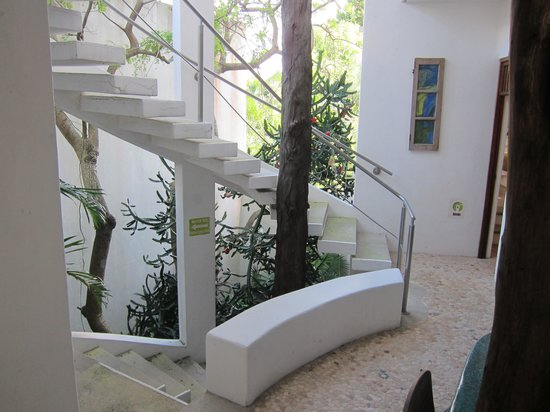 Mi Casa en Cozumel : First Level Stairs