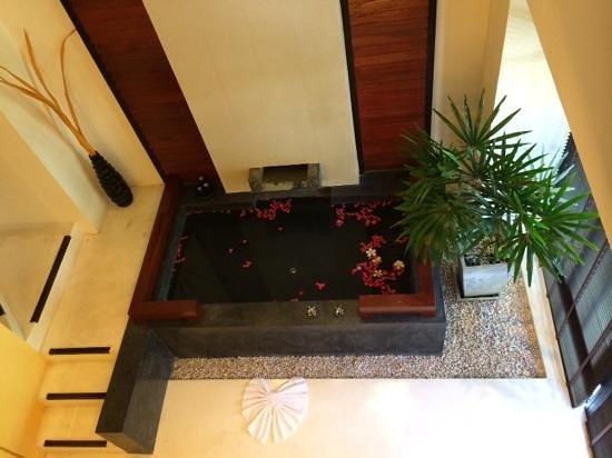 Kirikayan Boutique Resort : view from bedroom in duplex room