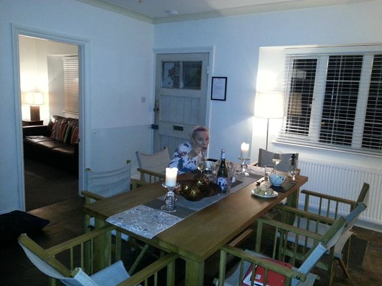 Cary Arms & Spa: dinner at Beach Cottage