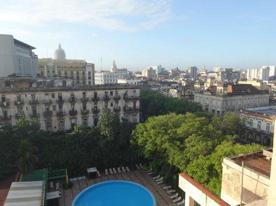 Hotel Mercure Sevilla Havane: 部屋からの眺め