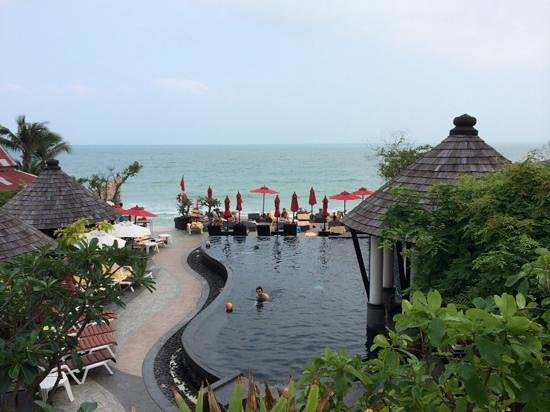 Kirikayan Boutique Resort : view from Jacuzzi room 888