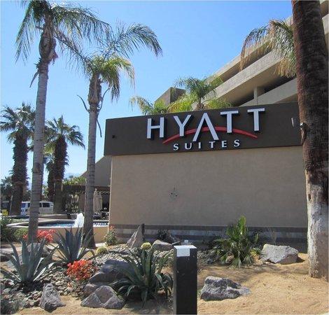 Hyatt Palm Springs: Fachada do Hotel Hyatt