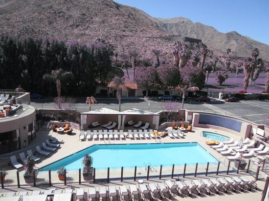 Hyatt Palm Springs: Vista da sacada