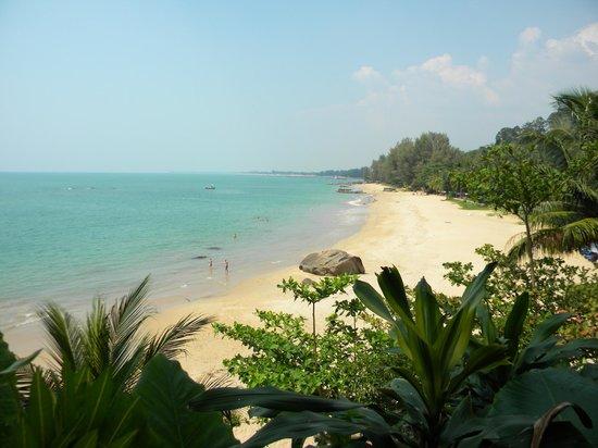 Khaolak Sunset Resort: Пляж отеля Khao Lak Sunset Resort