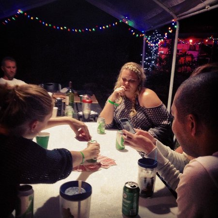 Evening Star Villas : Playing Card Games After Dinner w/Other Guests