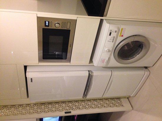 Grande Centre Point Terminal 21: エレクトロラックス社製の洗濯乾燥機
