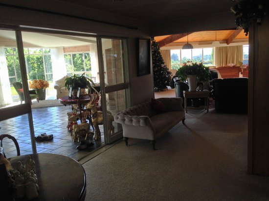 Doolan's Country Retreat : the common areas of the big house