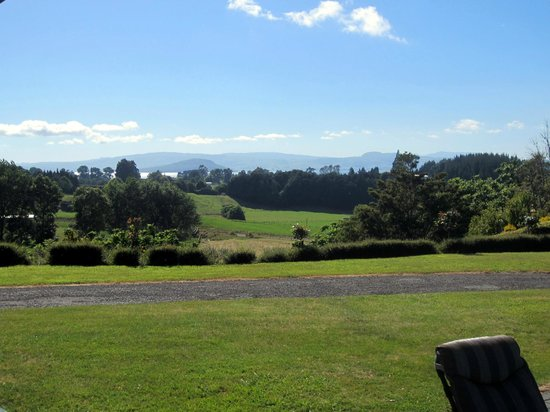 Doolan's Country Retreat : view from the dining room during breakfast