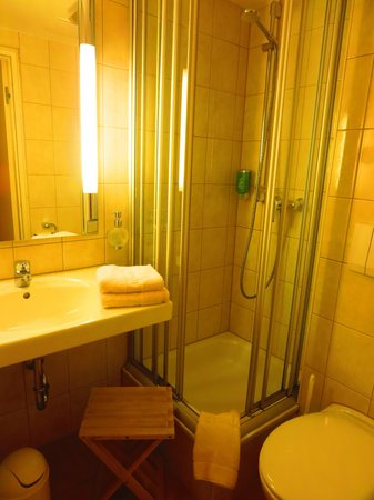 Hotel Victoria: Small Bathroom