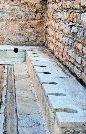 Best of Ephesus Tours: The public latrine