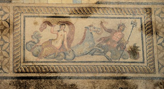 Best of Ephesus Tours: Intricate mosaics in the terrace houses
