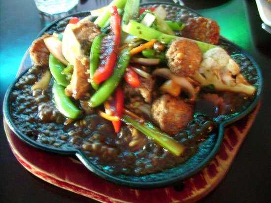 Southern Star Cafe & Restaurant: Hot Plate Tofu & Vegetable