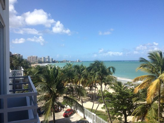 San Juan Water & Beach Club Hotel: View from 5th floor balcony