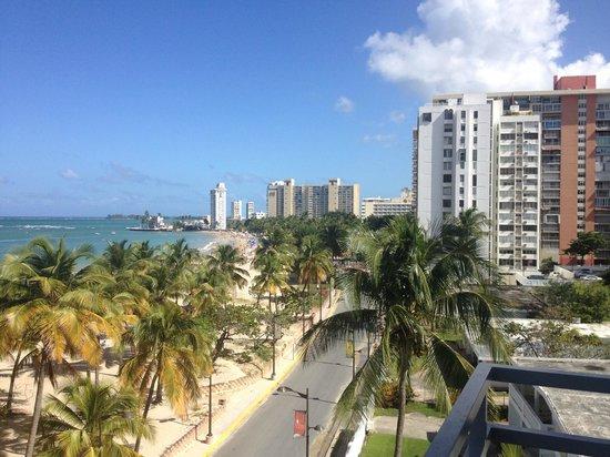 San Juan Water & Beach Club Hotel: View from the balcony