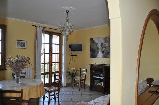 Villa Flavia : гостинная