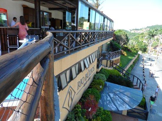 Rio Buzios Beach Hotel: vista desde la pileta