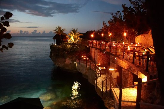 Just Beautiful Review Of Rockhouse Restaurant Negril Jamaica Tripadvisor