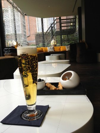 Sofitel Legend The Grand Amsterdam: Apres shopping refreshment