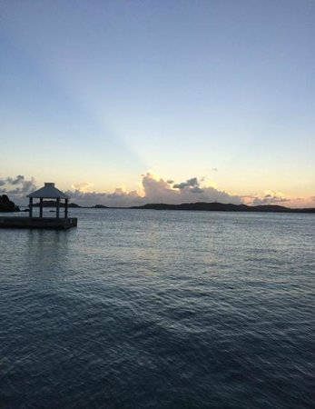 Secret Harbour Beach Resort: The ocean