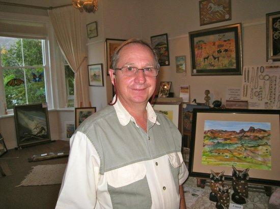 Hick's Art Gallery: Richard Hickman - Artist