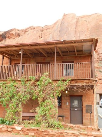 Goulding's Trading Post Museum.: 2nd. floor living quarters of the Gouldings, with original furnishings.