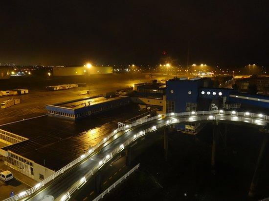 P&O Ferries - Day Trips : Auffahrt für KFZ