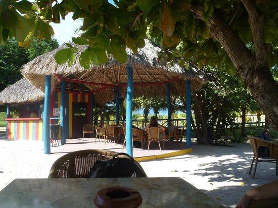 Ancon Beach: Strandbar